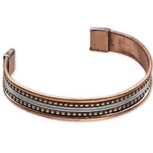 Stylish Unisex Copper Cuff Bracelet
